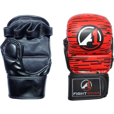 Red Haze Pro Sparring MMA Gloves - A1 Fight Gear