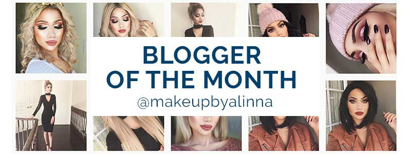 Blogger of the month @makeupbyalina