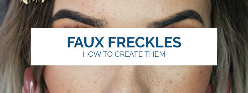 The Fake Freckle Look is Currently Trending and it's Flawless