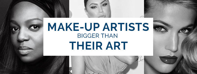 5 Make-Up Artists bigger than their Art