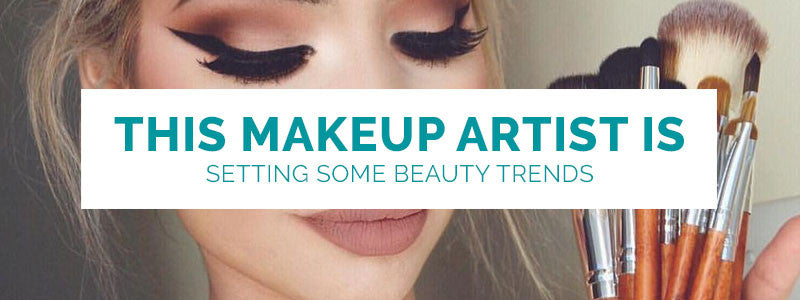 This Toronto Makeup Artist Is Setting Some Beauty Trends!