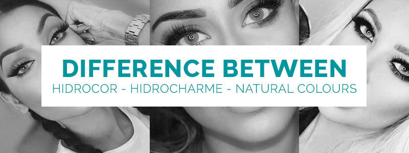 Difference Between Hidrocor - Hidrocharme - Natural Colours