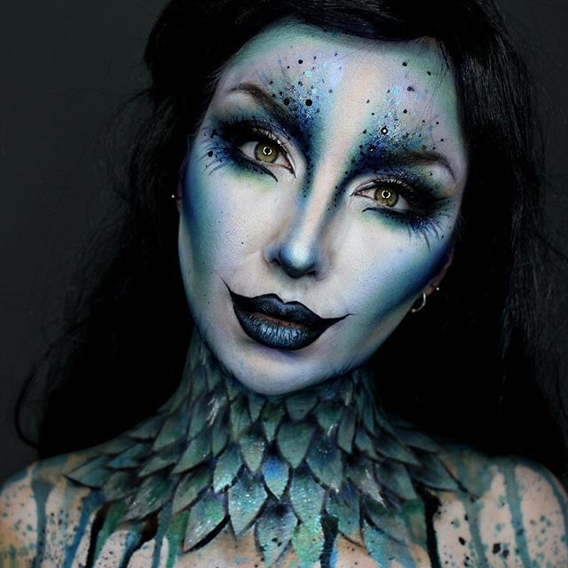 Halloween Makeup That Will Shock You Back To Life