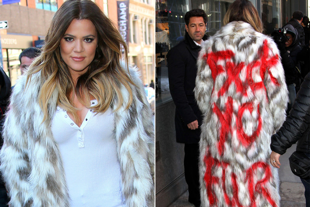 Are You Fur Real, Khloe Kardashian?
