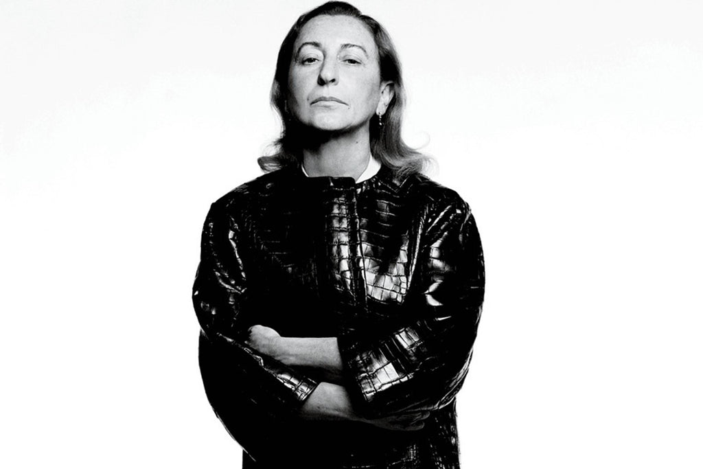 Miuccia Prada - Not Just A Fashion Force.