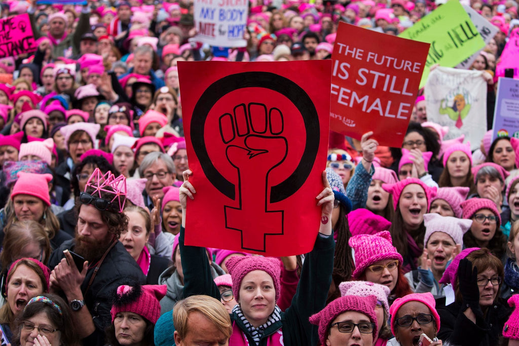 Women March In Unity Worldwide to Fight The Fight of Equality.