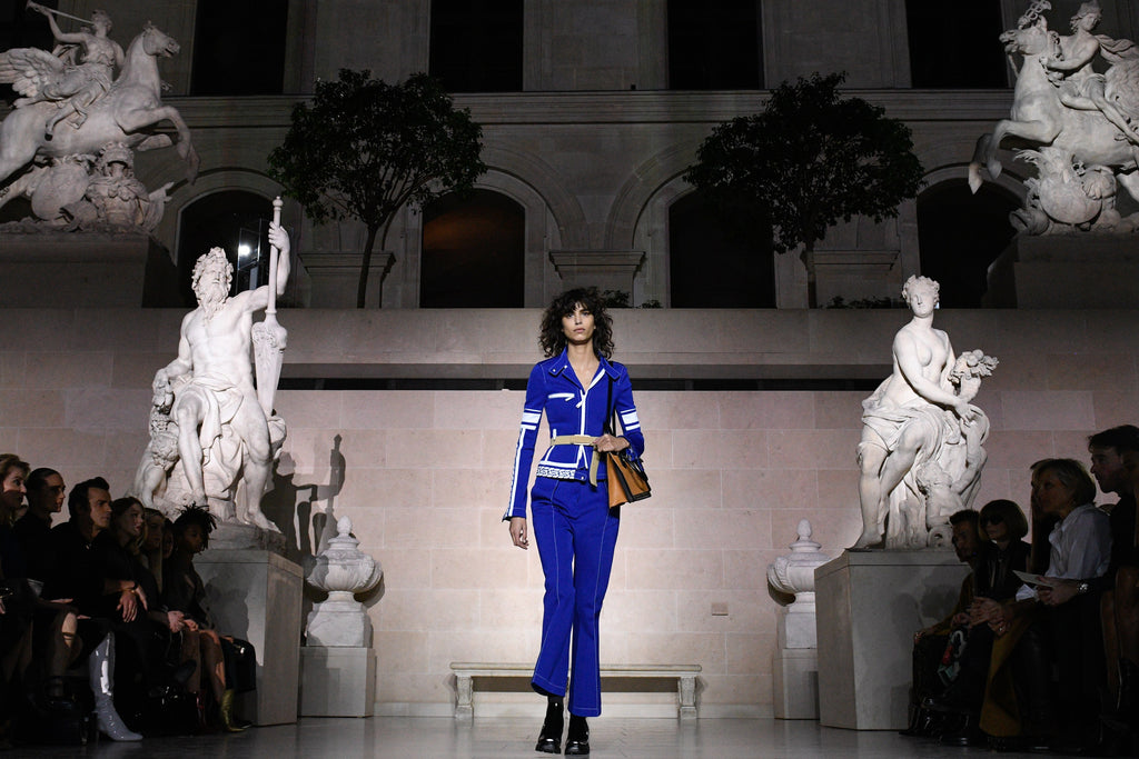 Louis Vuitton: Pure Romance Under The Canopy of The Louvre