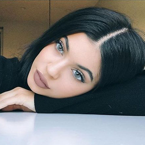 Eyes Of Solotica Kylie Jenner wearing Solotica hydrocharme Cristal contact lenses