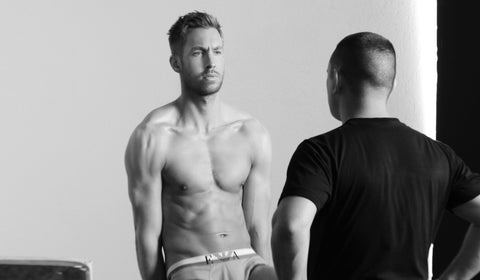 eyes of solotica calvin harris emporio armani