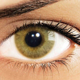 Eyes Of Solotica Hidrocor Avela (Hazelnut) Coloured Contact Lenses Girl 1
