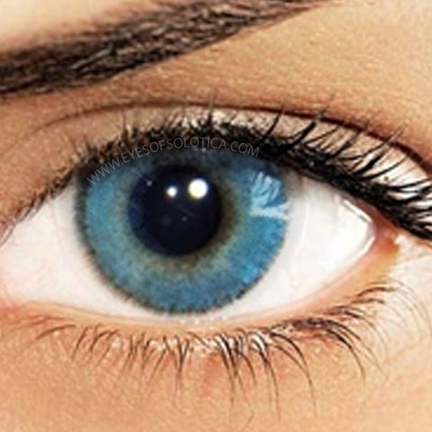 Eyes Of Solotica Natural Azul (Blue) Coloured Contact Lenses