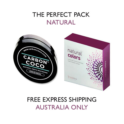 Eyes of Solotica Carbon Coco Teeth Whitening Pack