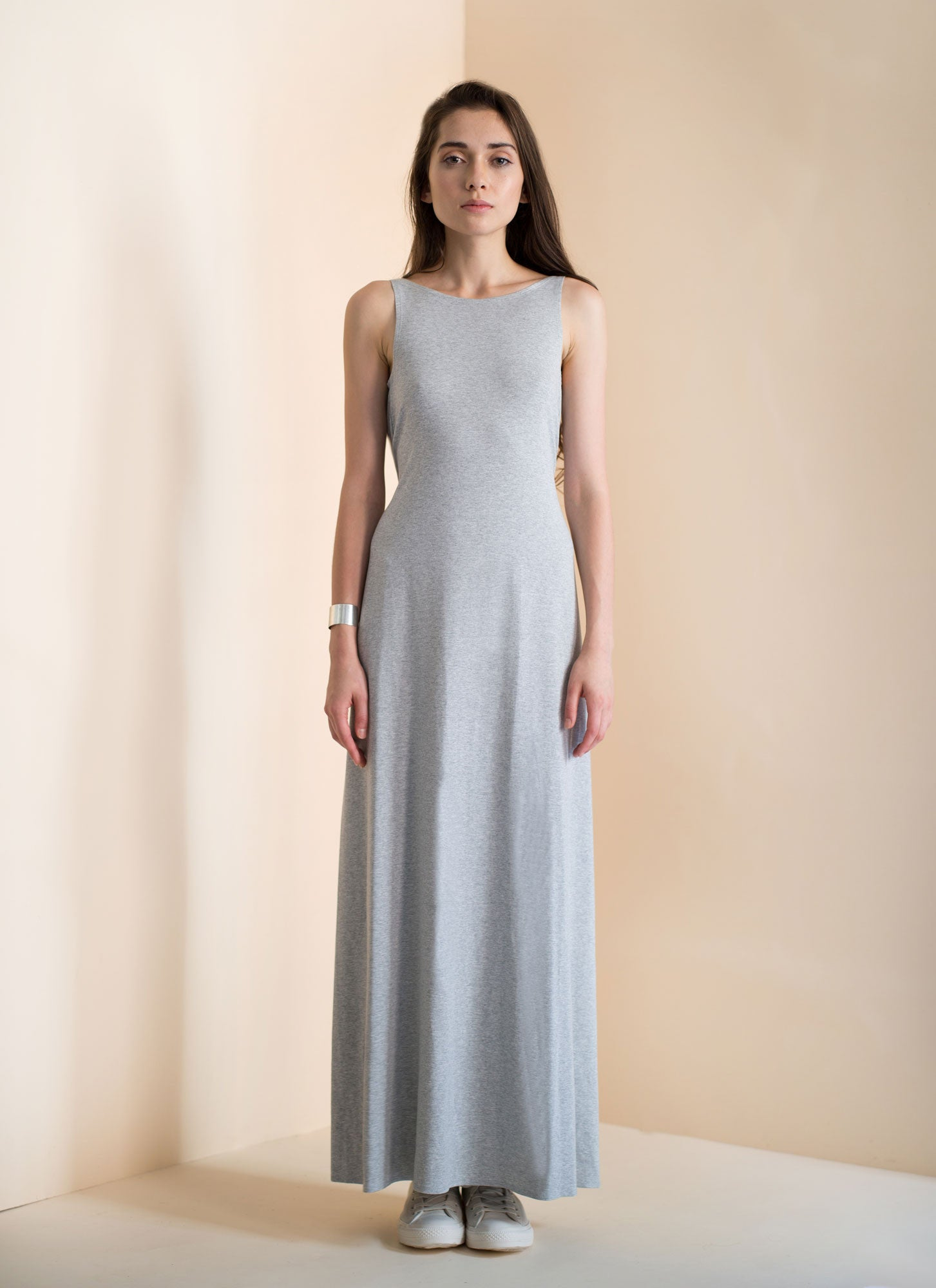 Ava Maxi | Heather Grey