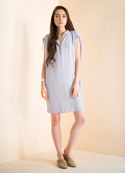 Harper Dress | Sliver