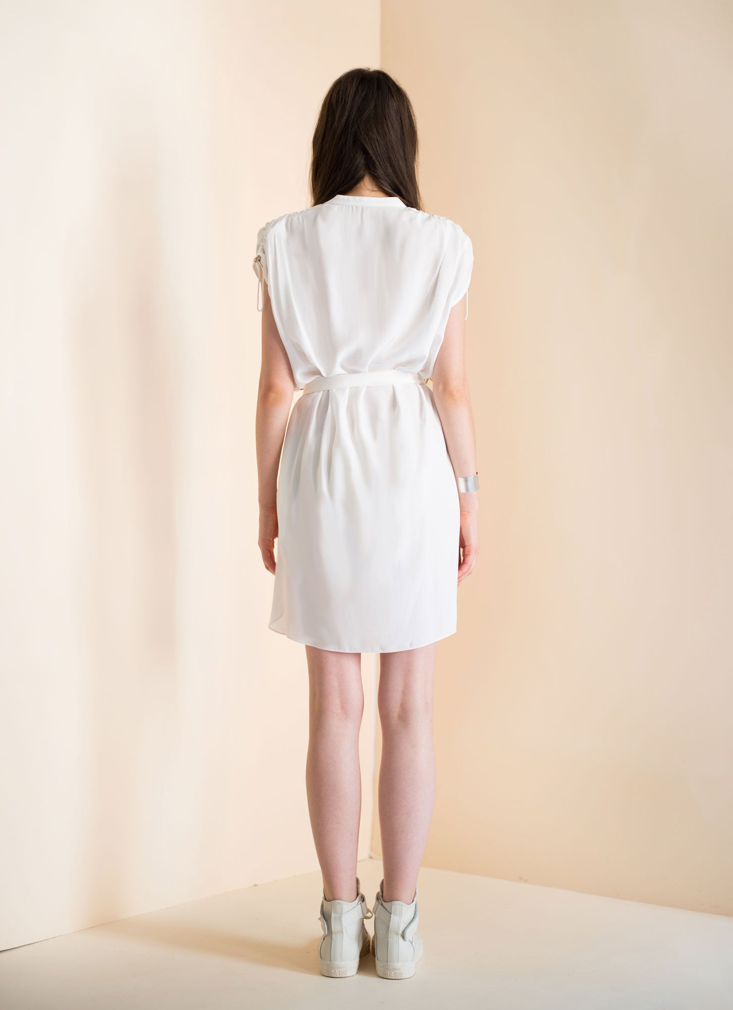 Harper Dress | White