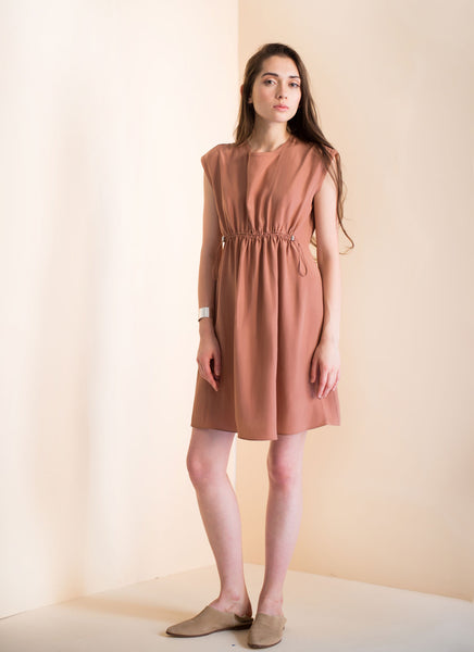 Mia Dress | Rosegold