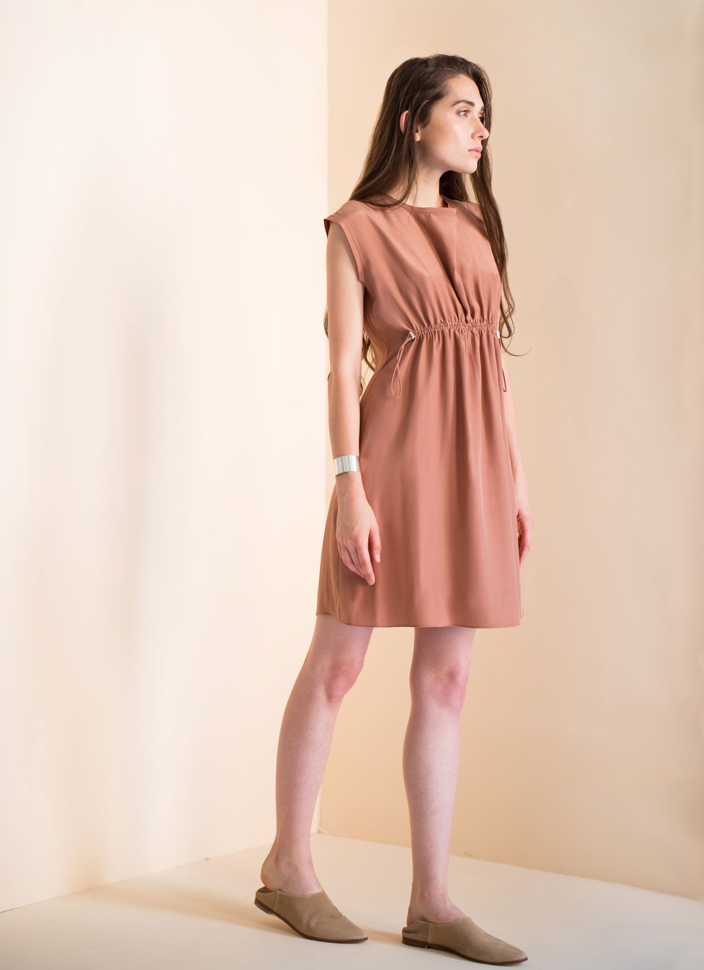 Wholesale Mia Dress | Rosegold