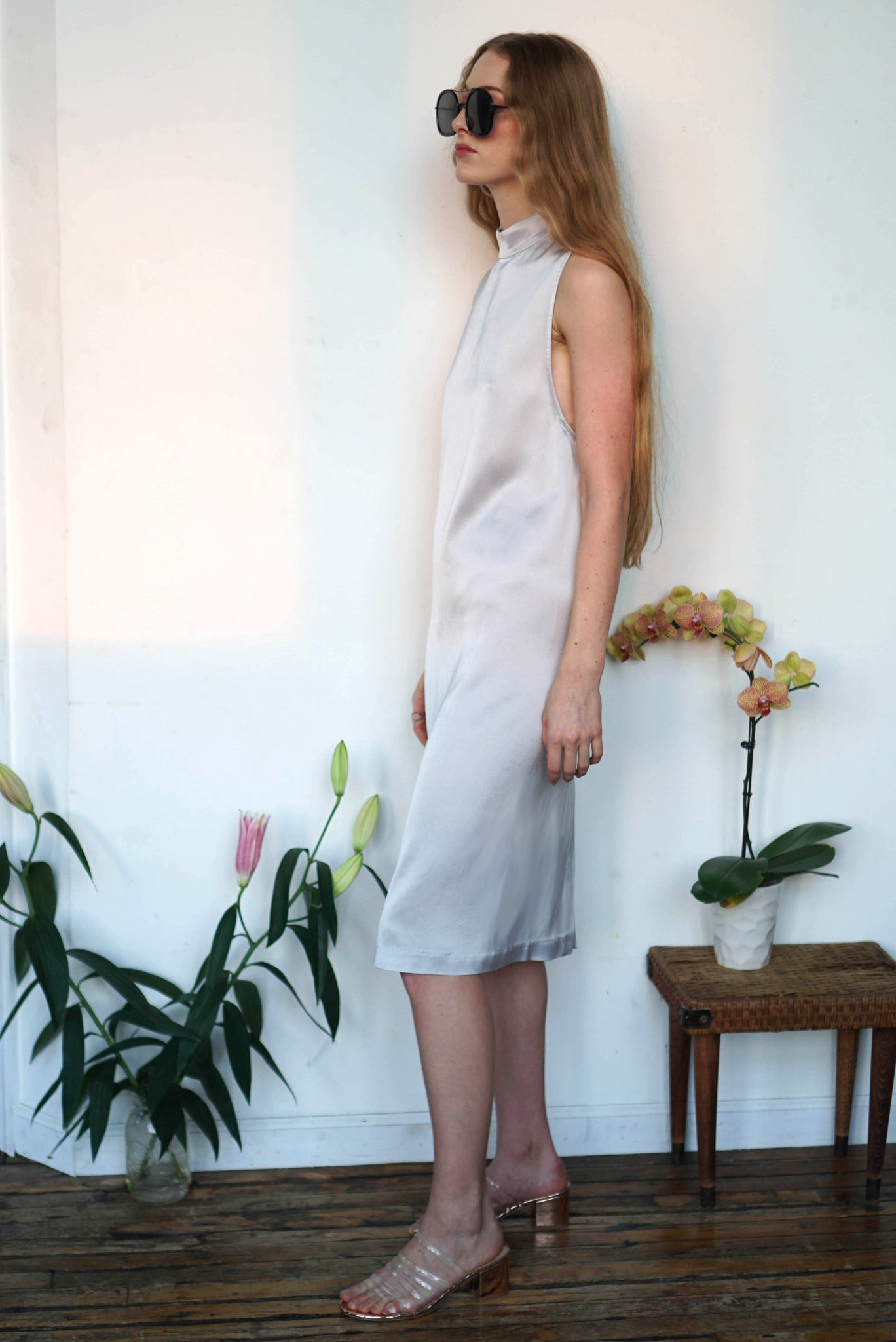 Lily Dress | Silver