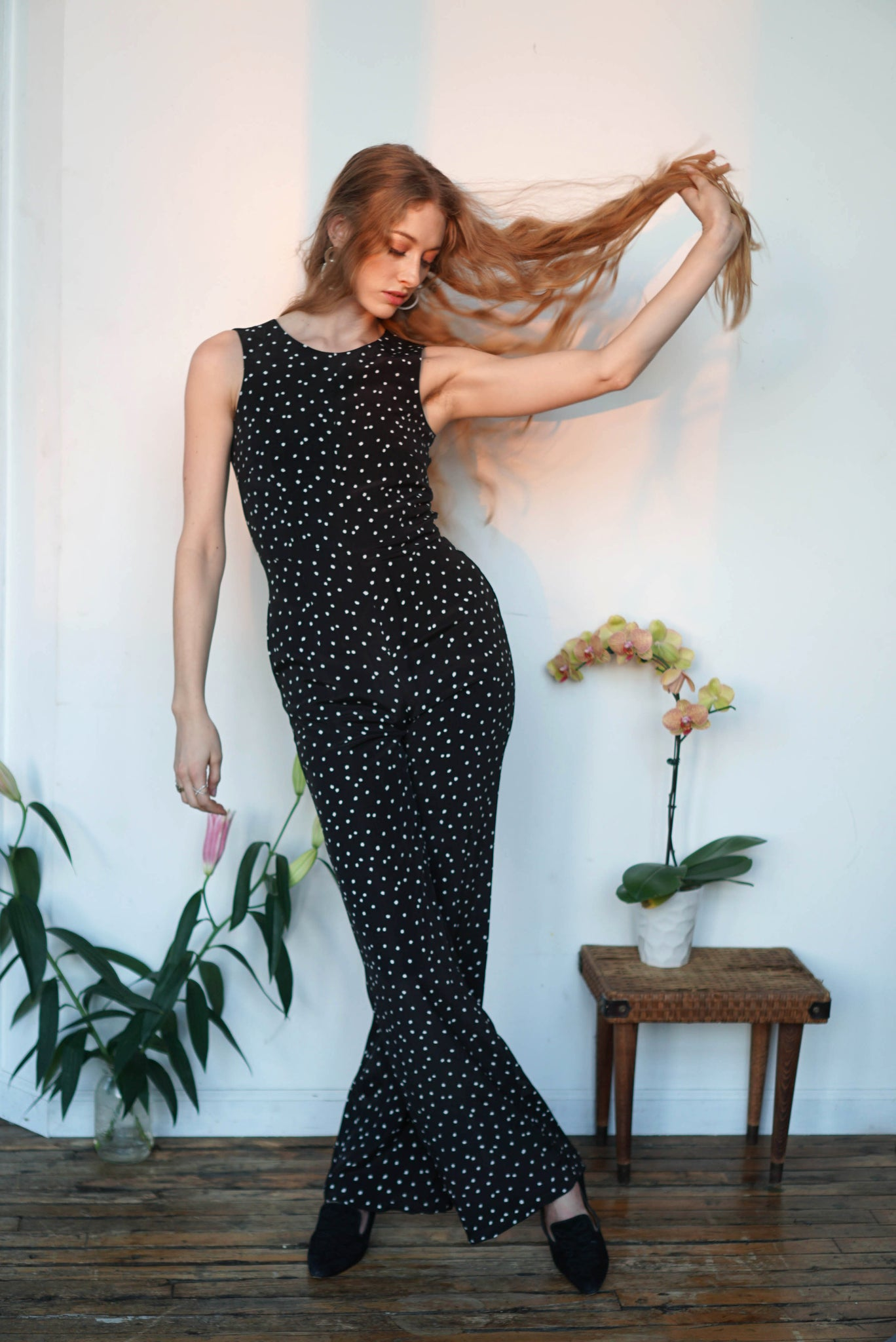 Wholesale Zoe Jumpsuit | Dots