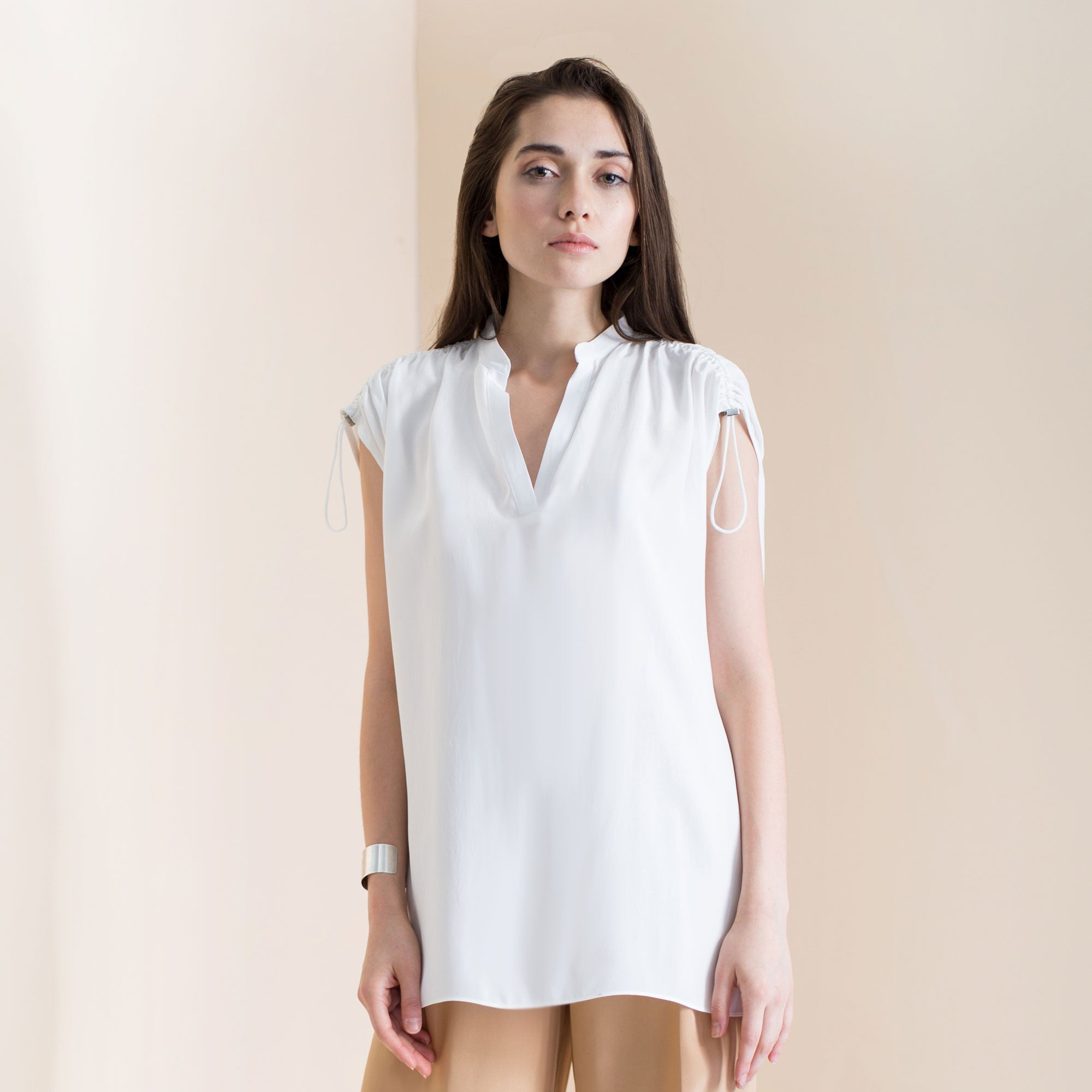 Sophia Top | White