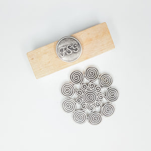 Flower Spiral Magnetic Brooch (LAST SET)