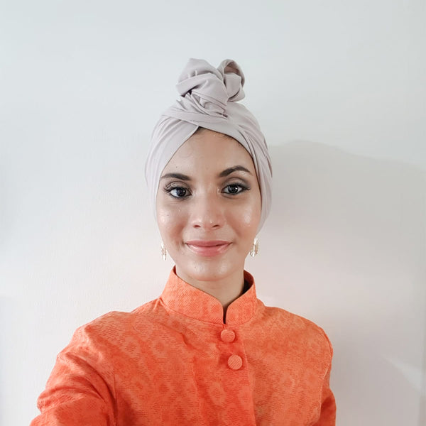 TTCbasics Turban (Light Beige)