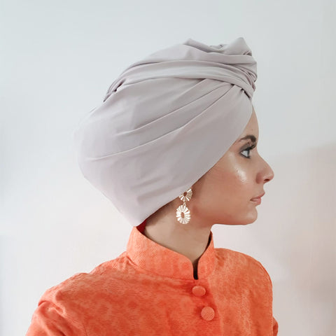 Chic Turban (Light Beige)