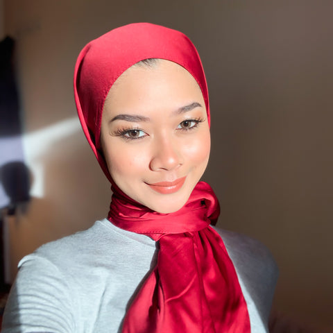Red TTCbasics Shawl
