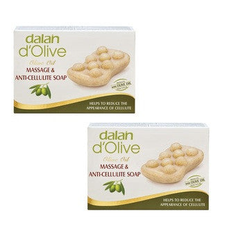 Massage & Anti-Cellulite Bar Soap (Pack of 2)