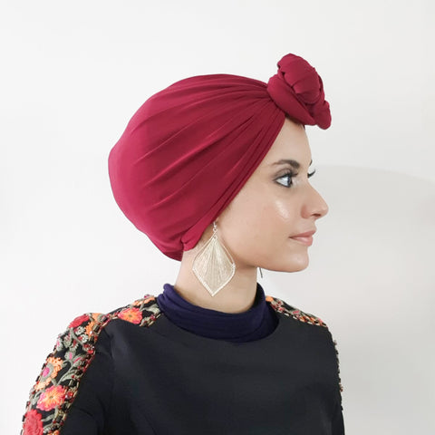Chic Turban (Maroon)