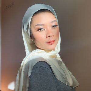 Cream TTCbasics Shawl