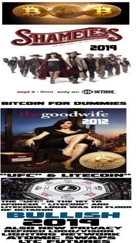"""BITCOINS,LITECOIN & CRYPTO CURRENCY ""FEATURES AND MENTIONS AS IT GAINS MASS ADOPTION, BRAND AWARENESS AND ON TRACK TO BE THE BEST INVESTMENT AND GREATEST TRANSFER OF WEALTH AS WE CREATE MORE BITCOIN MILLIONAIRS AGAIN THIS YEAR 2019"