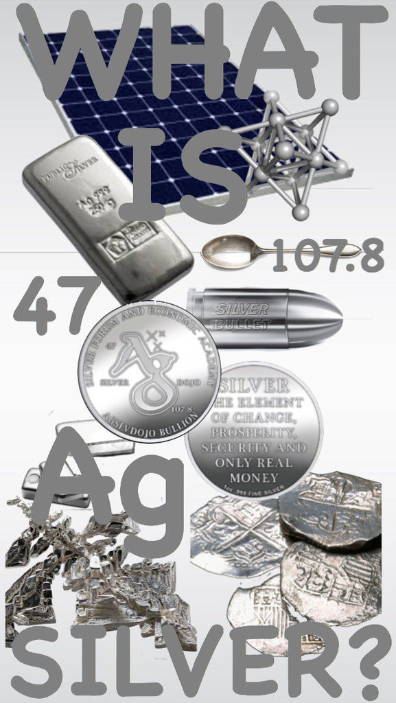 WHAT IS (Ag) SILVER?