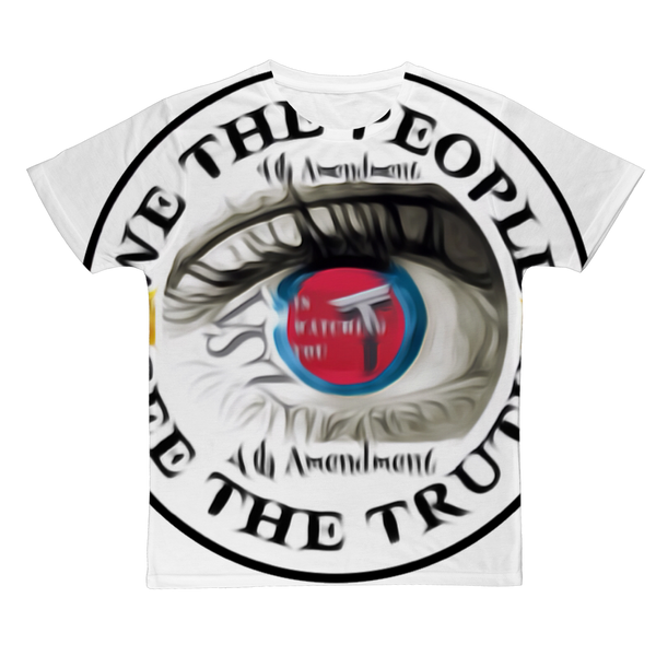 WE THE PEOPLE SEE THE TRUTH Classic Sublimation Adult T-Shirt
