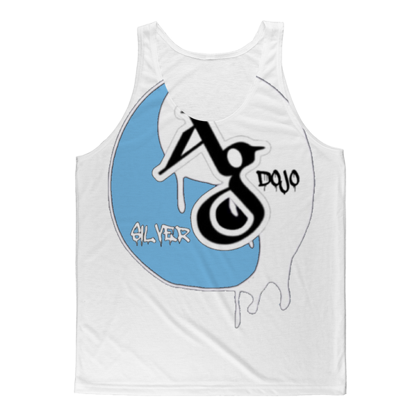 TRADEMARK/LOGO MELTING (BABY BLUE) Classic Sublimation Adult Tank Top