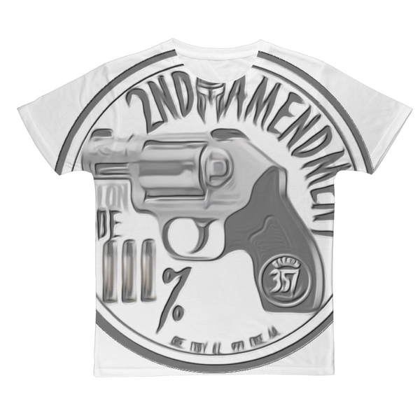 2ND AMENDMENT 3% Classic Sublimation Adult T-Shirt