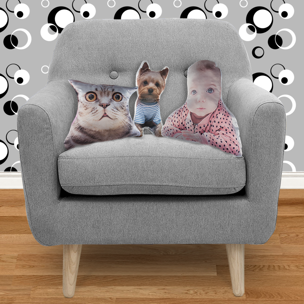.999 FINE BEHIND Custom Shape Cushion