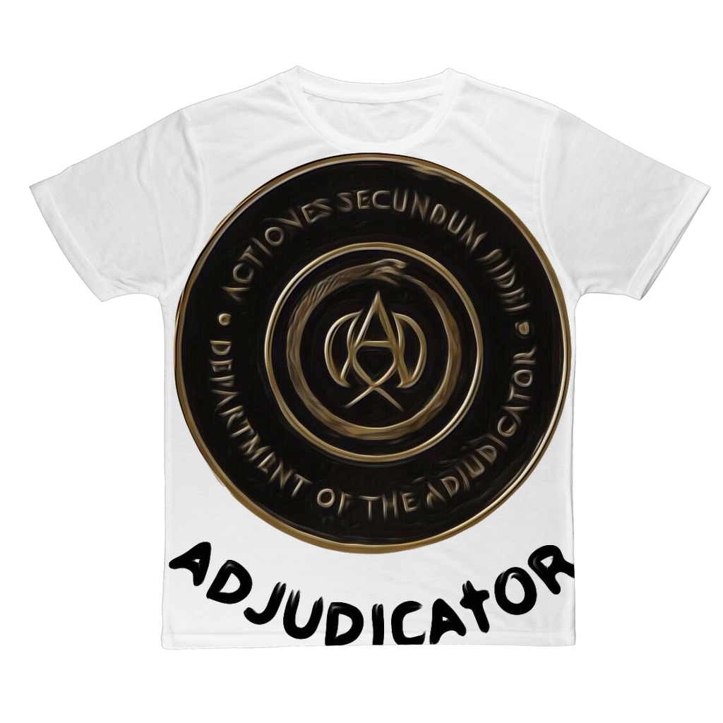ADIJUDICATOR Classic Sublimation Adult T-Shirt