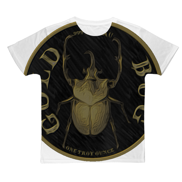 GOLD BUG Classic Sublimation Adult T-Shirt