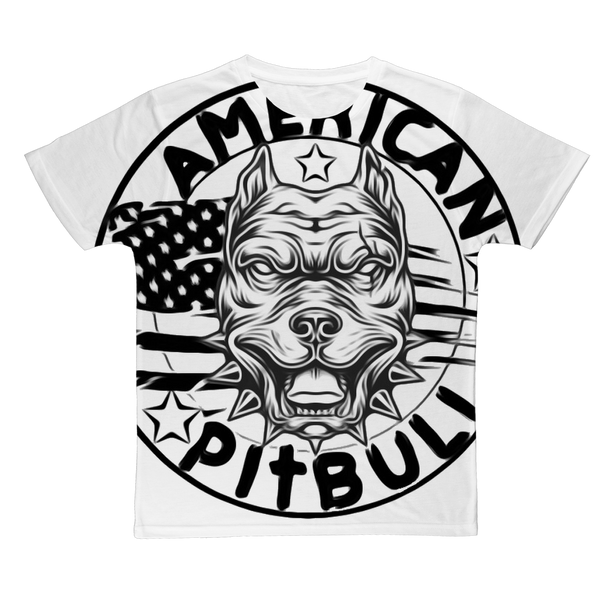 AMERICAN PITBULL Classic Sublimation Adult T-Shirt
