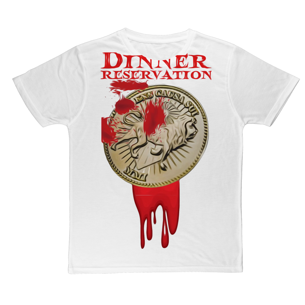 DINNER RESERVATION Classic Sublimation Adult T-Shirt