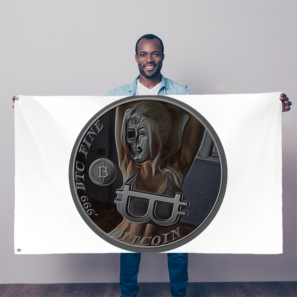 .999 BTC FINE Sublimation Flag