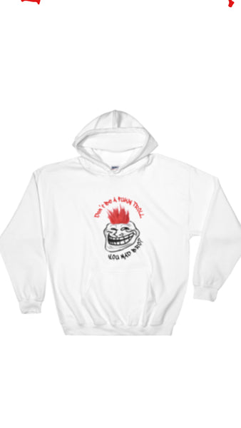 "Agsilverdojo Silver Stackin Apparel (Hoodie) Collection "" FUKIN TROLL"""