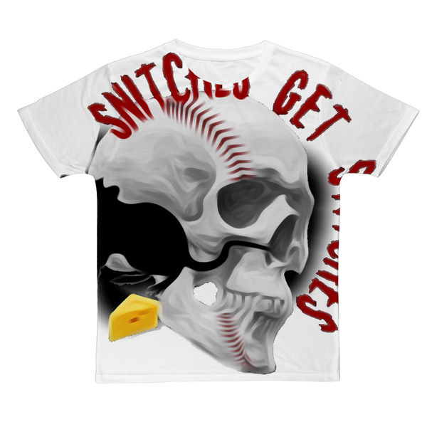SNITCHES GET STITCHES #2 Classic Sublimation Adult T-Shirt