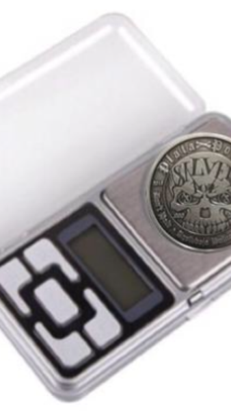 "200g x 0.01g Mini Pocket Scales 0.1 Display Units Balance gram ""WEIGH YOUR SILVER COINS"""