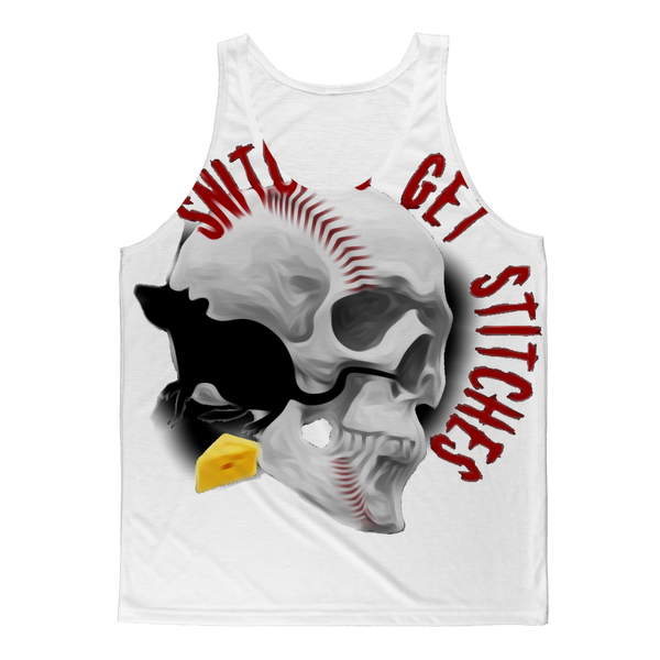SNITCHES GET STITCHES #2 Classic Sublimation Adult Tank Top