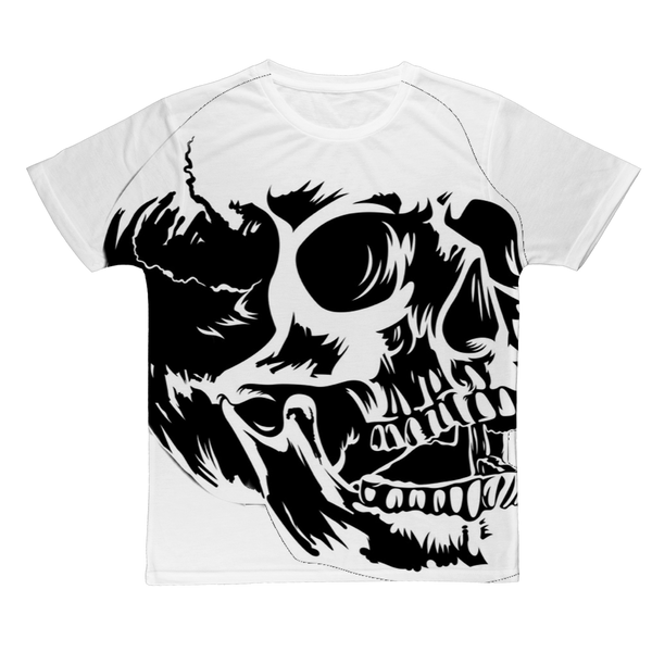 SKULL Classic Sublimation Adult T-Shirt