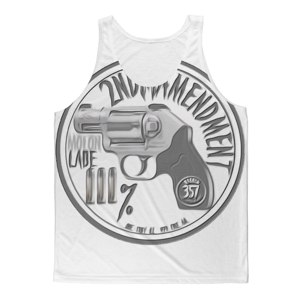 2ND AMENDMENT 3% Classic Sublimation Adult Tank Top