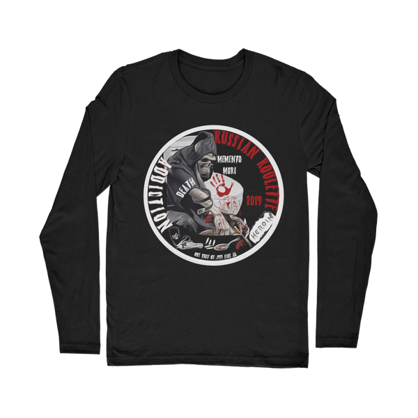 ADDICTION RUSSIAN ROULETTE Classic Long Sleeve T-Shirt
