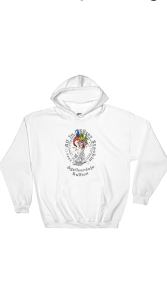 "Agsilverdojo Silver Stackin Apparel (MENS) Hoodie Collection "" All In Silver Stackin"""